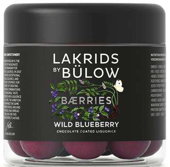 Bülow Wild Blueberry Chokolate Coated Liquorice 125 g