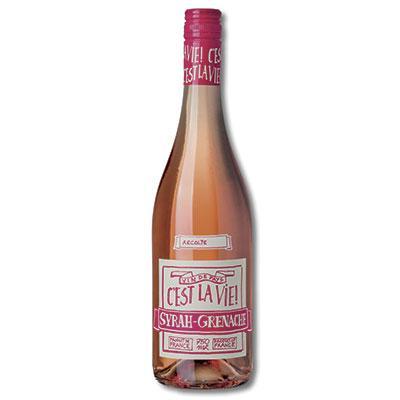 C'est la Vie, Syrah & Grenache Rosé, Pays d'Oc, Pierre & Rémy Gauthier, Frankrig