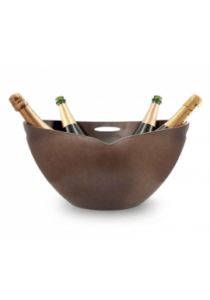Pulltex - champagnebowle - ebony akryl