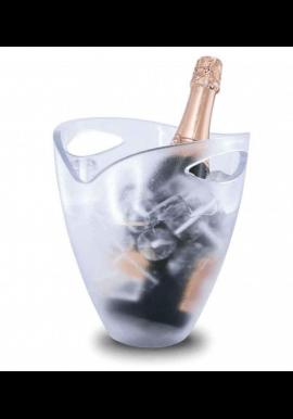 Pulltex - isspand/champagnekøler - gennemsigtig akryl