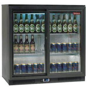 Backbar - Barkøleskab - 2 skydedøre