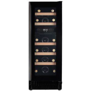 Cavin Scandinavian Collection 30 indbygget vinkøleskab, sort