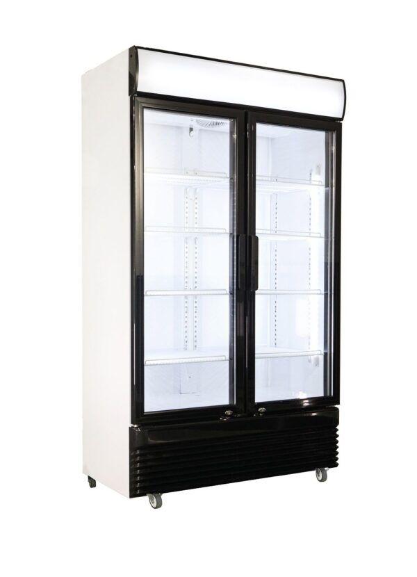 Displaykøleskab - 2 låger