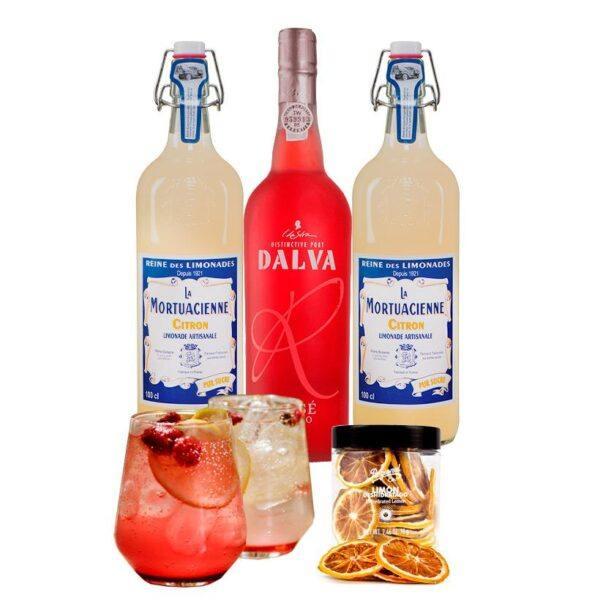 Drinkpakke med Port Rosé
