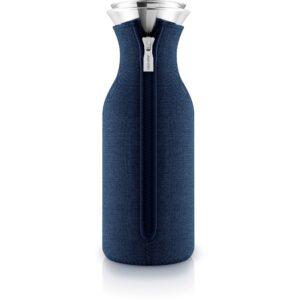 Eva Solo Køleskabskaraffel m vippelåg, Woven Navy Blue