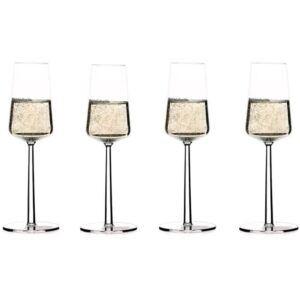 Iittala Essence champagneglas, 4 stk.