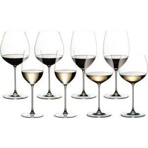 Riedel Veritas Pinot Noir/Cabernet Vinglas 8pak