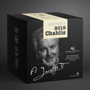 André's 2019 Chablis 13% 5 ltr