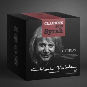 Claude's 2019 Syrah 13.5% 5 ltr