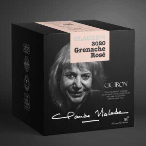 Claude's 2020 Grenache Rosé 12.5% 5 ltr