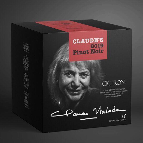 Claude's 2020 Pinot Noir 12.5% 5 ltr