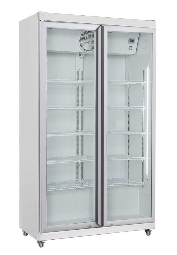 Flaskekøleskab / Displaykøleskab - 2 låger - 785 liter