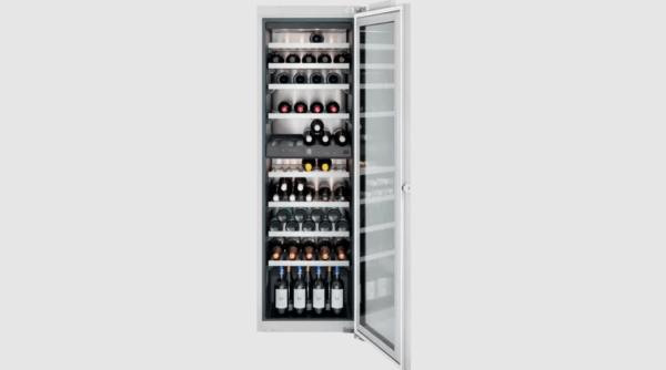Gaggenau Serie 200 vinkøleskab med glaslåge - indbygning - 80 flasker - 178 cm