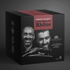 Vincent & François' 2018 Côtes Du Rhône 15% 5 ltr