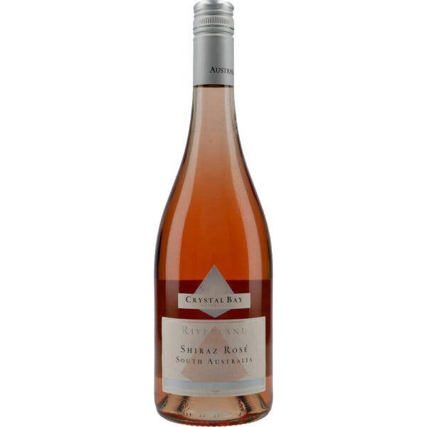 Crystal Bay Riverland Shiraz Rosé 13% 0.75 ltr.