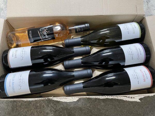 Domaine Joncy Beaujolais vinpakken