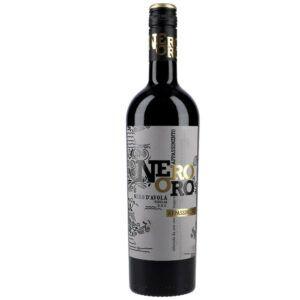 NeroOro Grillo Appassimento Rødvin 13,5 % 0,75 ltr.