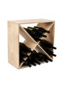 Piazza vinreol - 40 flasker - egetræ