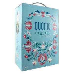 Quomo Organic Hvidvin 12% 3L