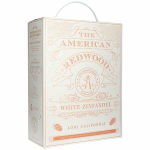 The American Redwood White Zinfandel Rose 13% 3L BIB