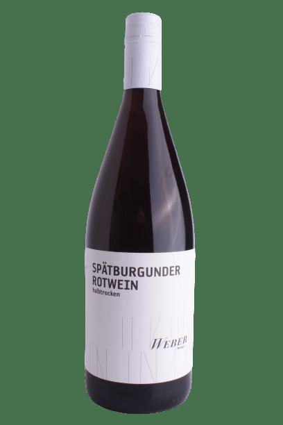 2017 Spätburgunder Rotwein Halbtrocken
