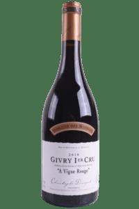 """2019 Givry Rouge 1er Cru """"A Vigne Rouge"""""""