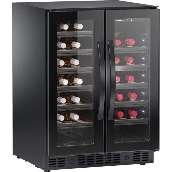 Dometic E40FGD vinkøleskab, 40 flasker, to zoner