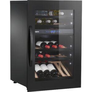 Dometic E49FGB vinkøleskab, 49 flasker, to zoner