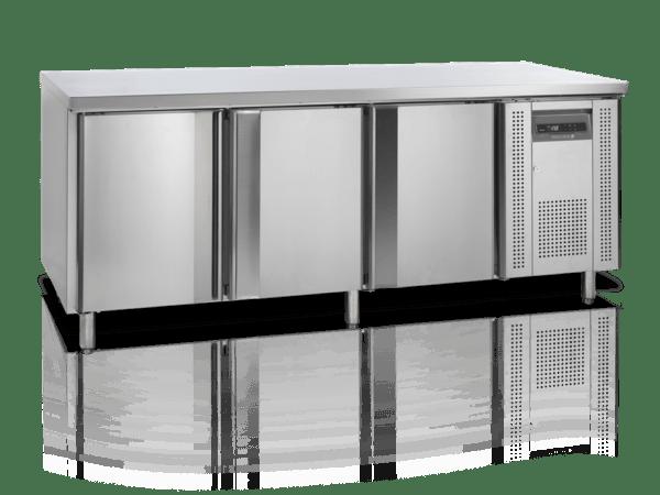 Kølebord - 3 låger - 400x600