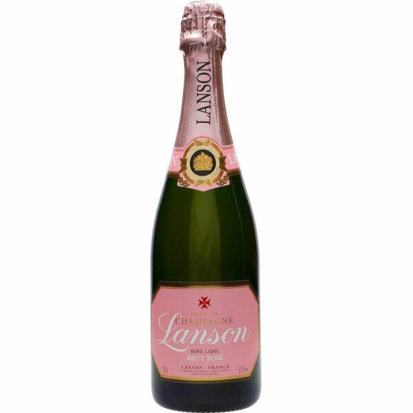 Lanson Rose Label 12,5% 0,75 ltr.