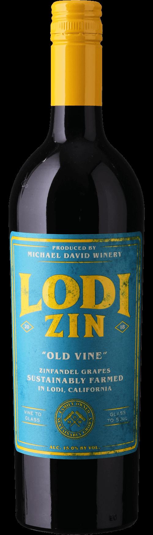 Michael David Winery Lodi Zin Old Vine Zinfandel 2018 75 cl