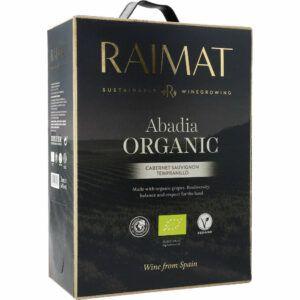 Raimat Abadia Organic BIB Rødvin 14% 3L