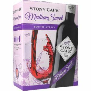 Stony Cape Medium Sweet Rødvin 13% 3ltr.