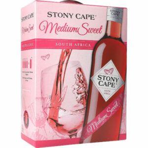 Stony Cape Medium Sweet Rosé 12% 3ltr.