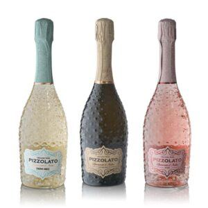 3 flasker mousserende Spumante - Extra Dry, Rosé & Demi Sec ØKO (Italien)