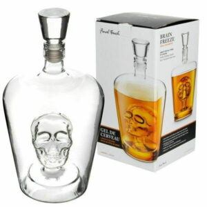 Final Touch Skull Decanter