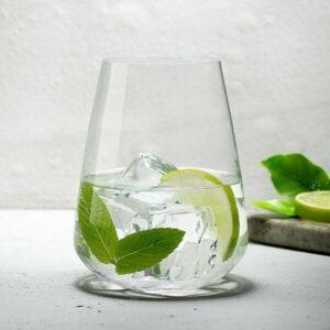 Vandglas Stem Zero, Nude 450ml (2 stk.)